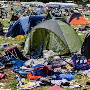 Refugee Tent Drop Off